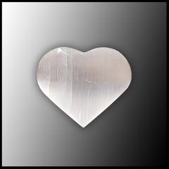 Selenite Heart - Small