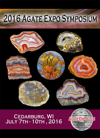 2016 Agate Expo Symposium DVD Set