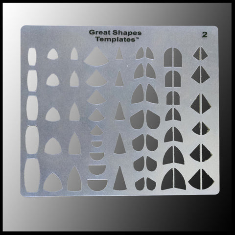 great shapes template complete set the gem shop inc