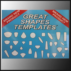 Great Shapes Template Complete Set