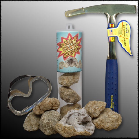 Wack 'n Crack Geodes Package
