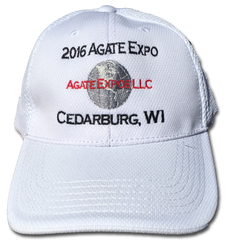 2016 Agate Expo Hat - White