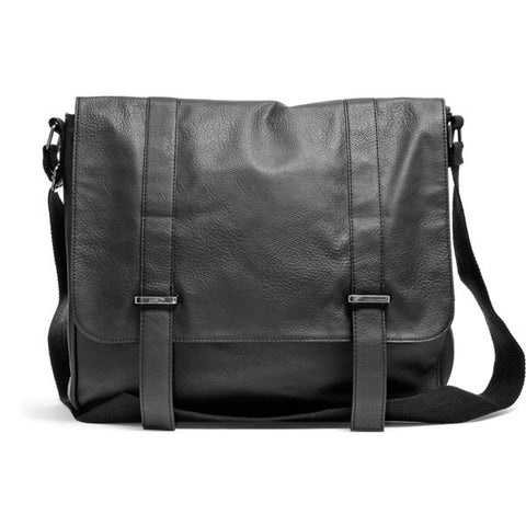 Leather stylish messenger bag
