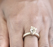 Load image into Gallery viewer, Bronze Fist Ring - Dennis Higgins Jewelry