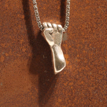 Load image into Gallery viewer, Silver Revolution Pendant - Dennis Higgins Jewelry