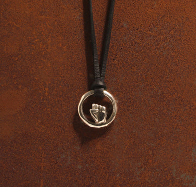 Silver Circle of Life Pendant - Dennis Higgins Jewelry