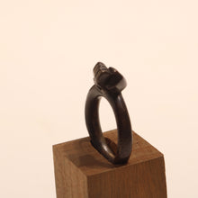 Load image into Gallery viewer, Dark Bronze Fist Ring - Dennis Higgins Jewelry