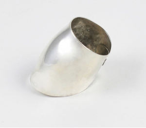 Smooth Silver Ring - Dennis Higgins Jewelry