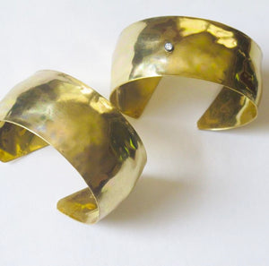 Sensuous Brass Cuff - Dennis Higgins Jewelry