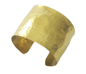 Textured Brass Cuff - Dennis Higgins Jewelry