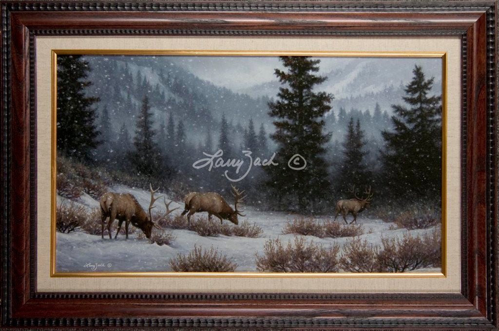 Limited Edition Classic Canvas Framing G