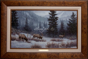 Limited Edition Classic Canvas Framing B1