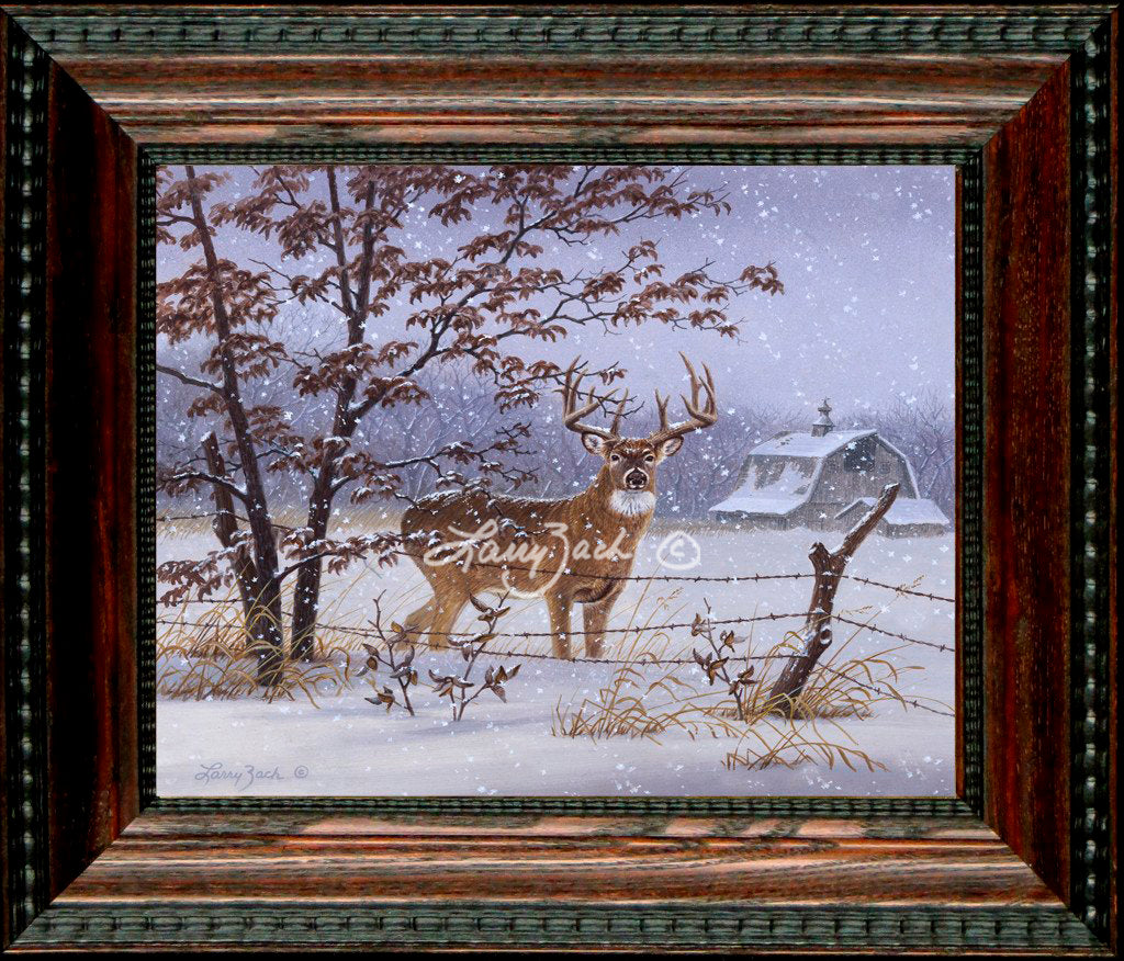 Open Edition Decorator Canvas Framing 2A