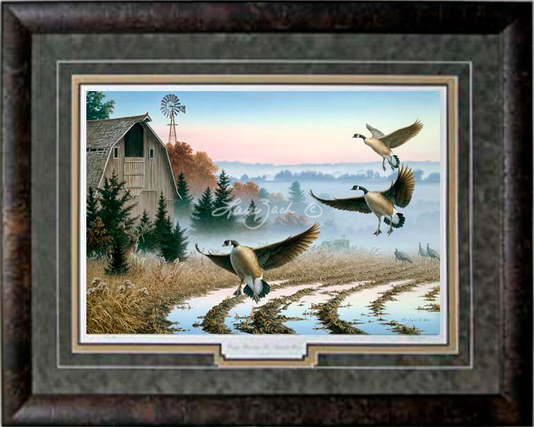 Limited Edition Classic Paper Framing 39A
