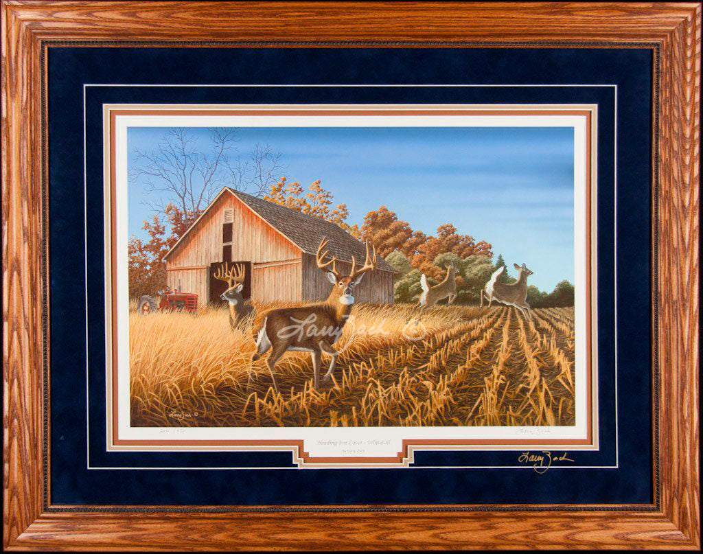 Limited Edition Classic Paper Framing H10