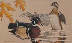 1984 Iowa Duck Stamp