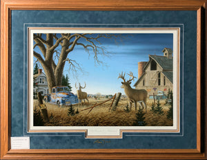 Secondary Market Limited Edition Paper #912 Framed