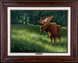 Limited Edition Classic Canvas Framing M5