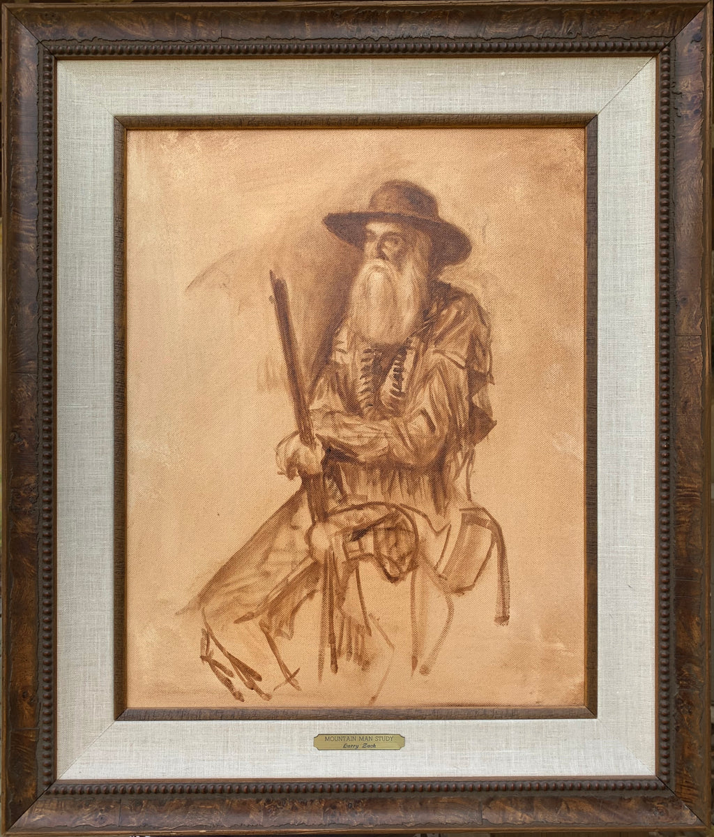 Mountain Man Study – Original