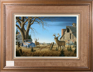 Secondary Market Limited Edition Paper #1551 Framed