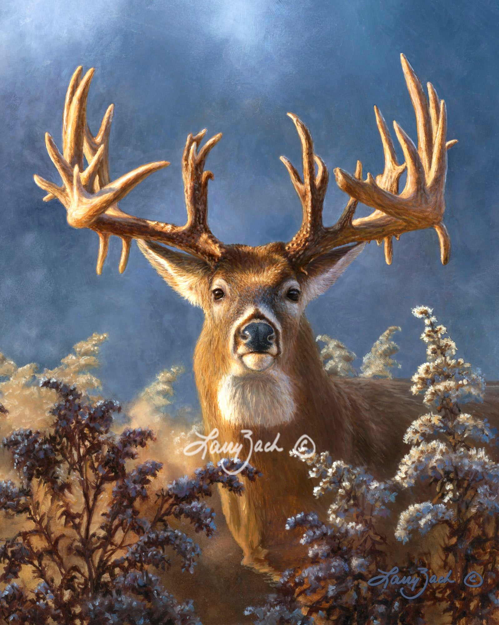 Portrait Companion for Trophy Bucks I – The Deric Sieck Buck