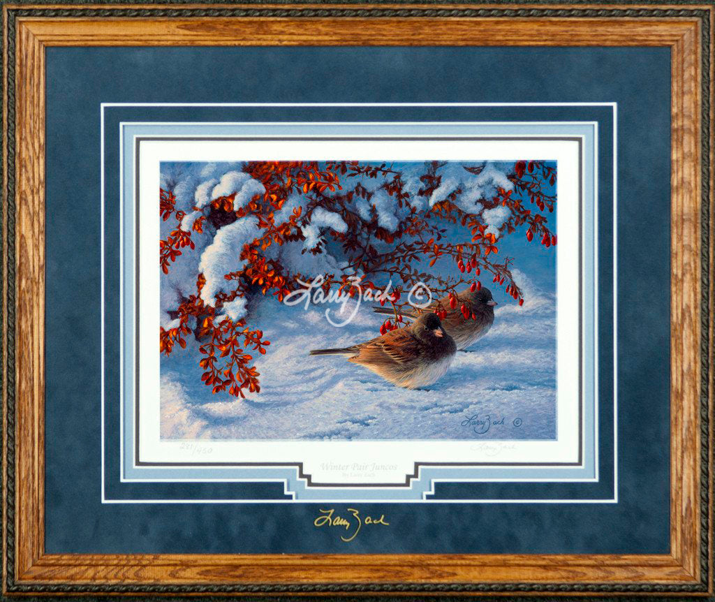 Limited Edition Classic Paper Framing 21A