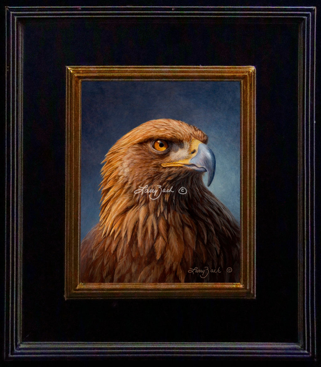 Golden Eagle Portrait – Original