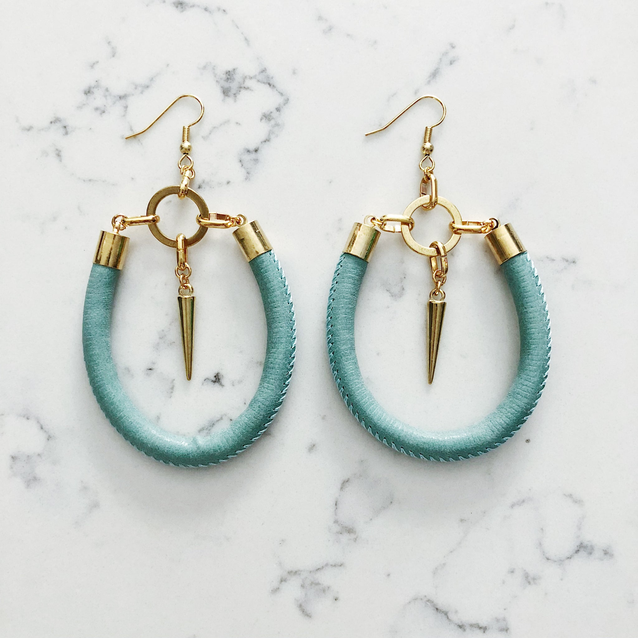 Gabriella Earrings in Gold