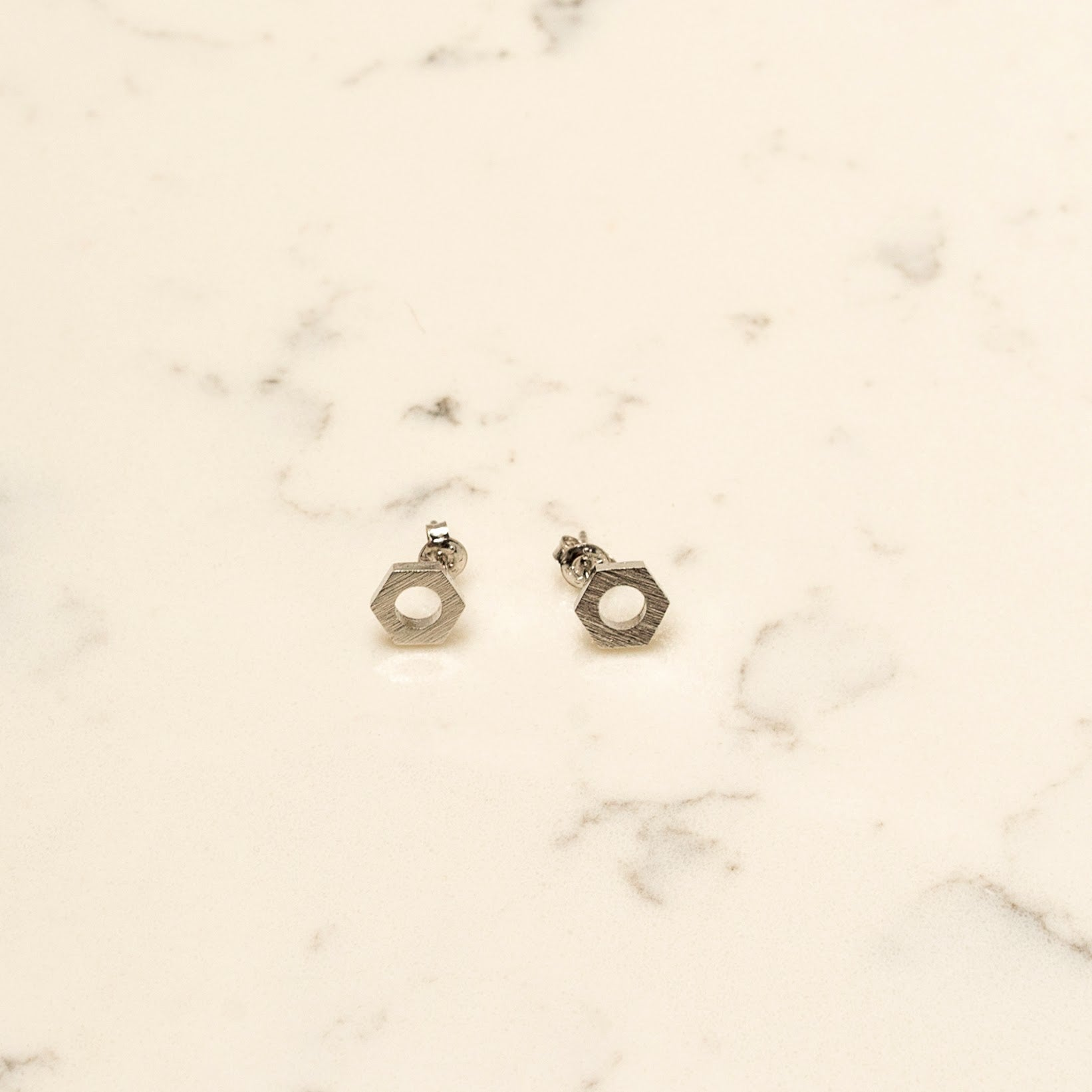 Lugnut Bolt Earrings