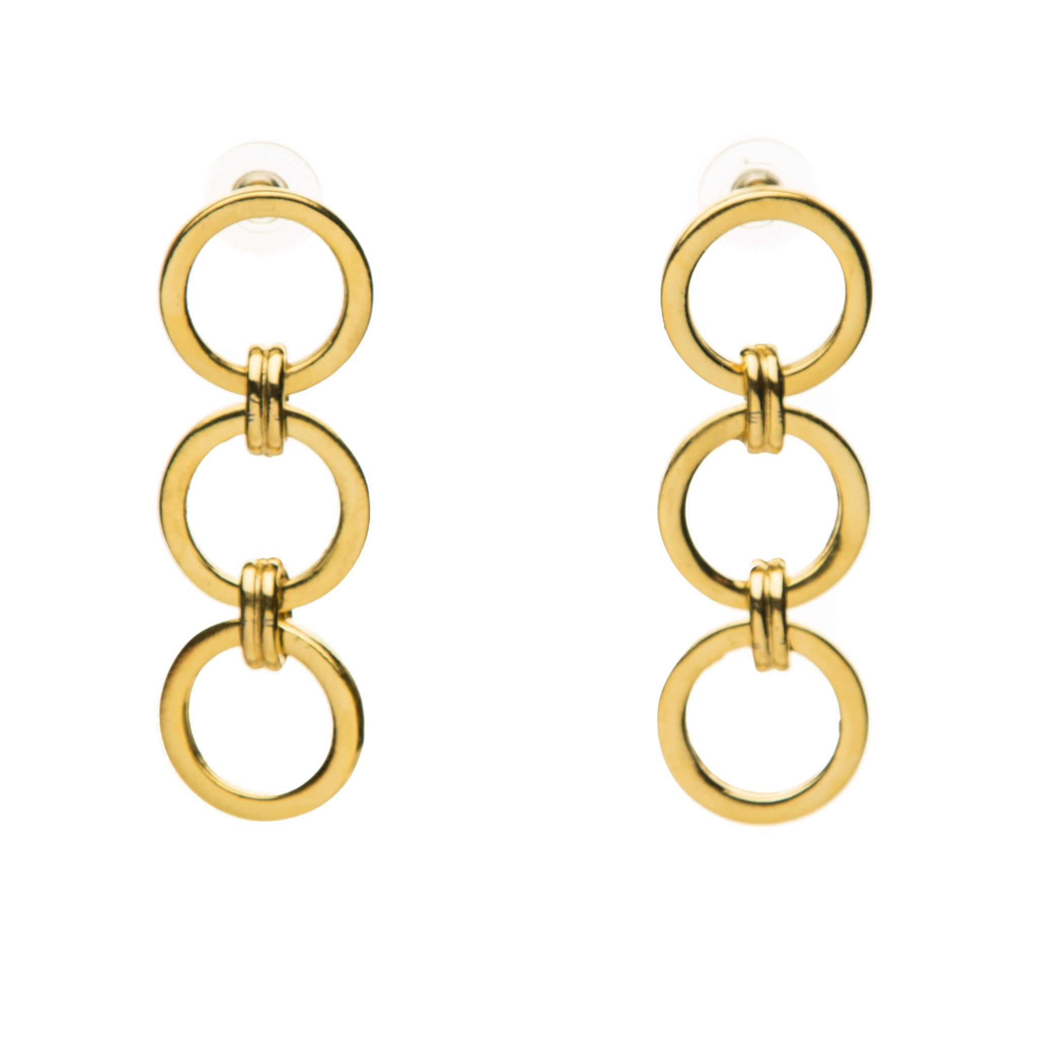 Geo Linear Earrings
