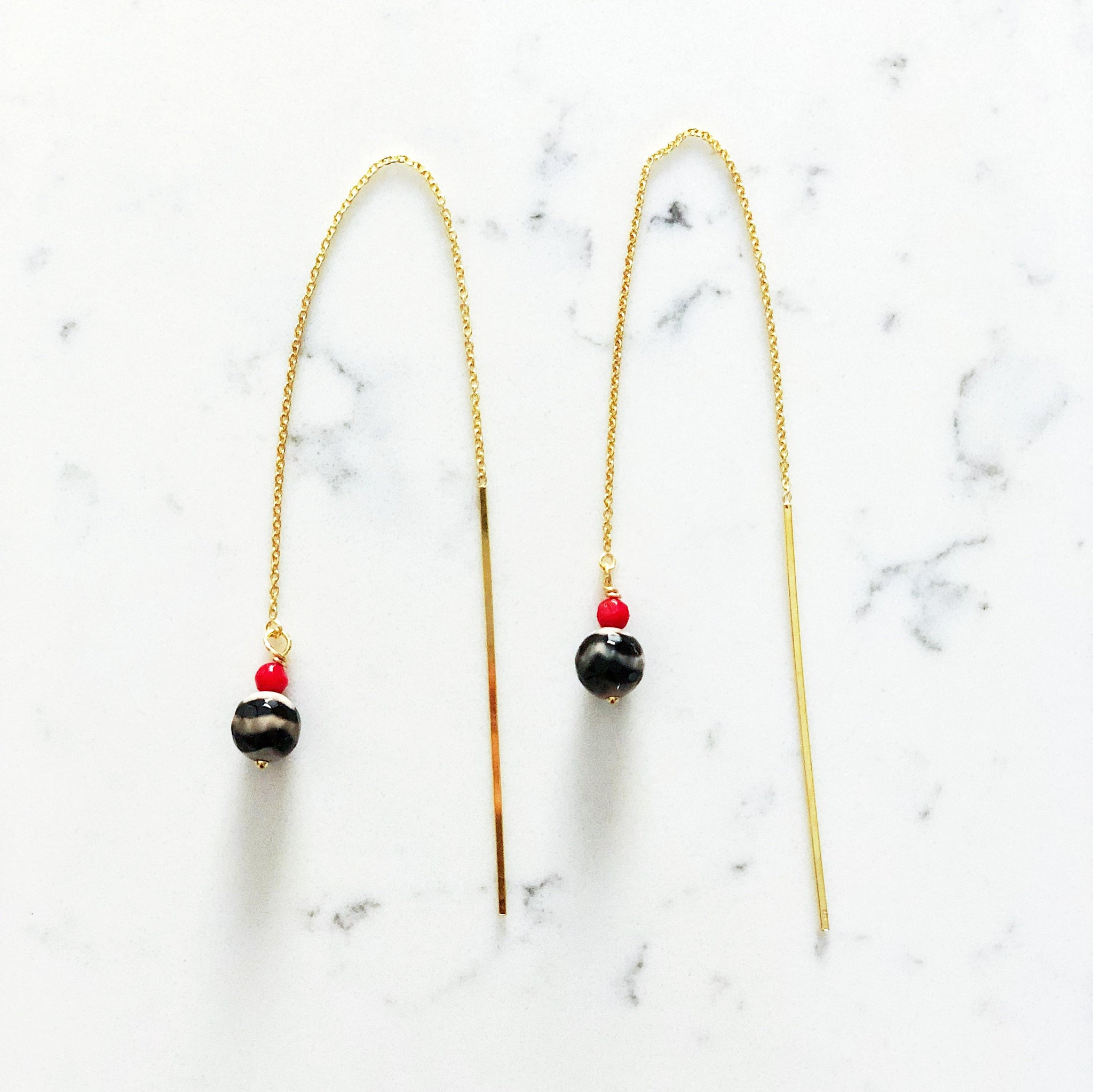 Lily Threader Earrings