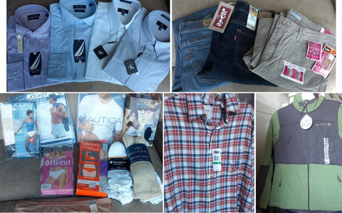 Clothing Liquidation Truckloads – Quicklotz Liquidations