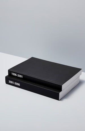 Printings. JP 1996-2001 Raf Simons Book Set