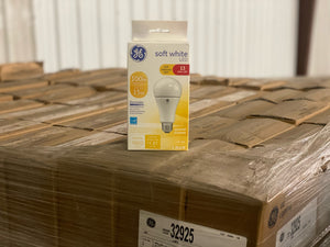 GE Soft White LED Soft Pleasing Light Bulb 32925 (1-pack) - 840 packs/pallet