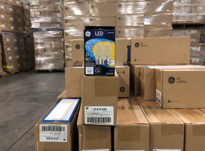 GE LED 5W (60W Equivalent) HD Reveal, Clear Decorative, Medium Base, Dimmable 23336 (2-pack) - 2376 packs/pallet
