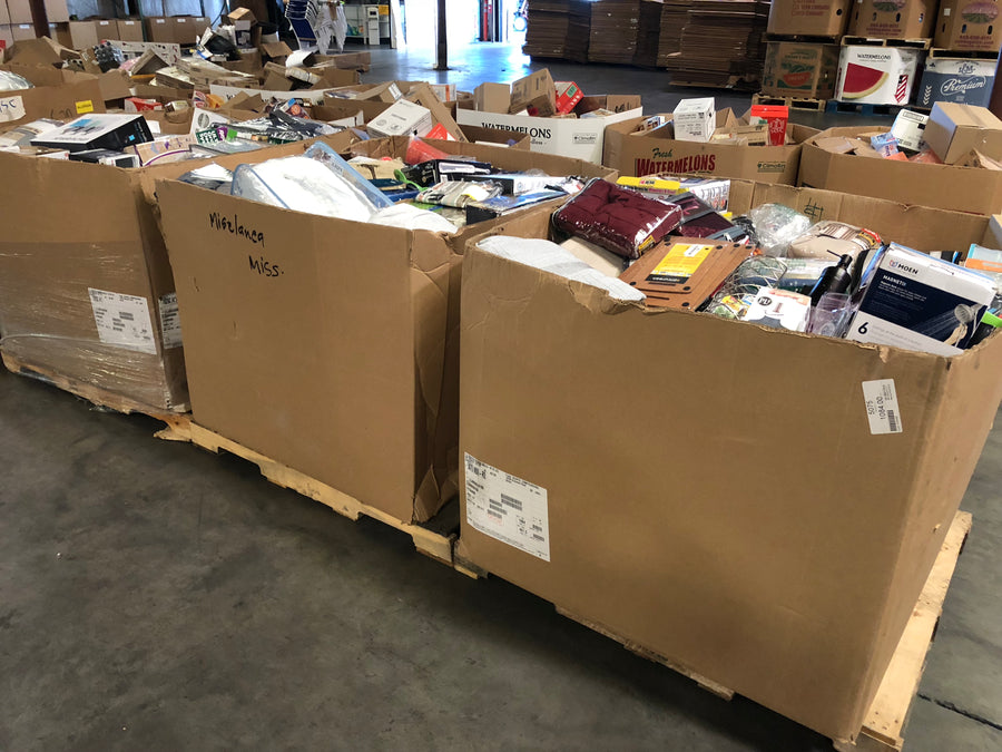 BBH Truckload: Bed Bath & Housewares