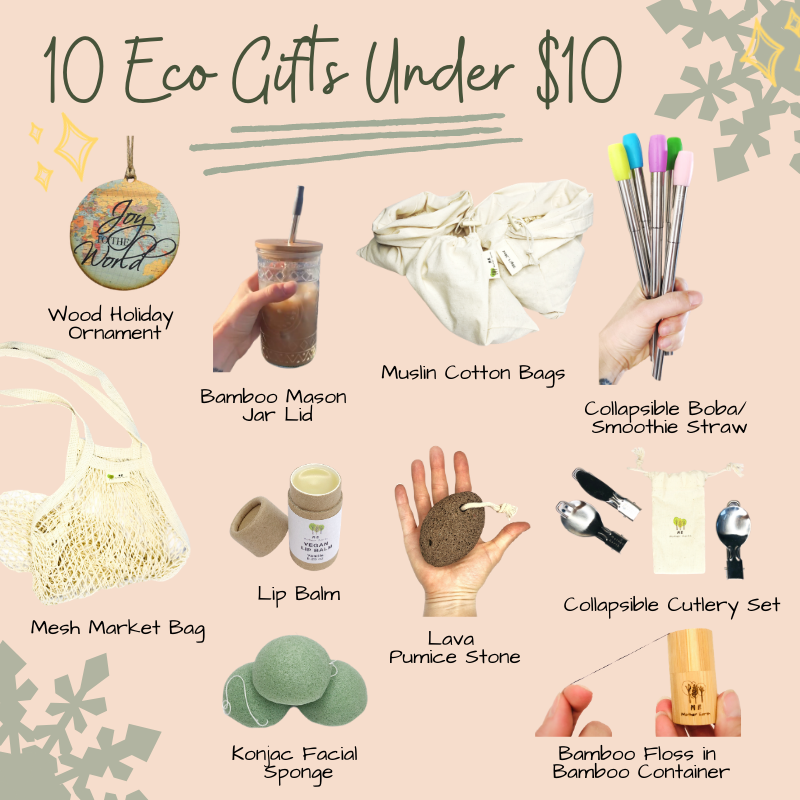 10 Eco Gifts Under $10