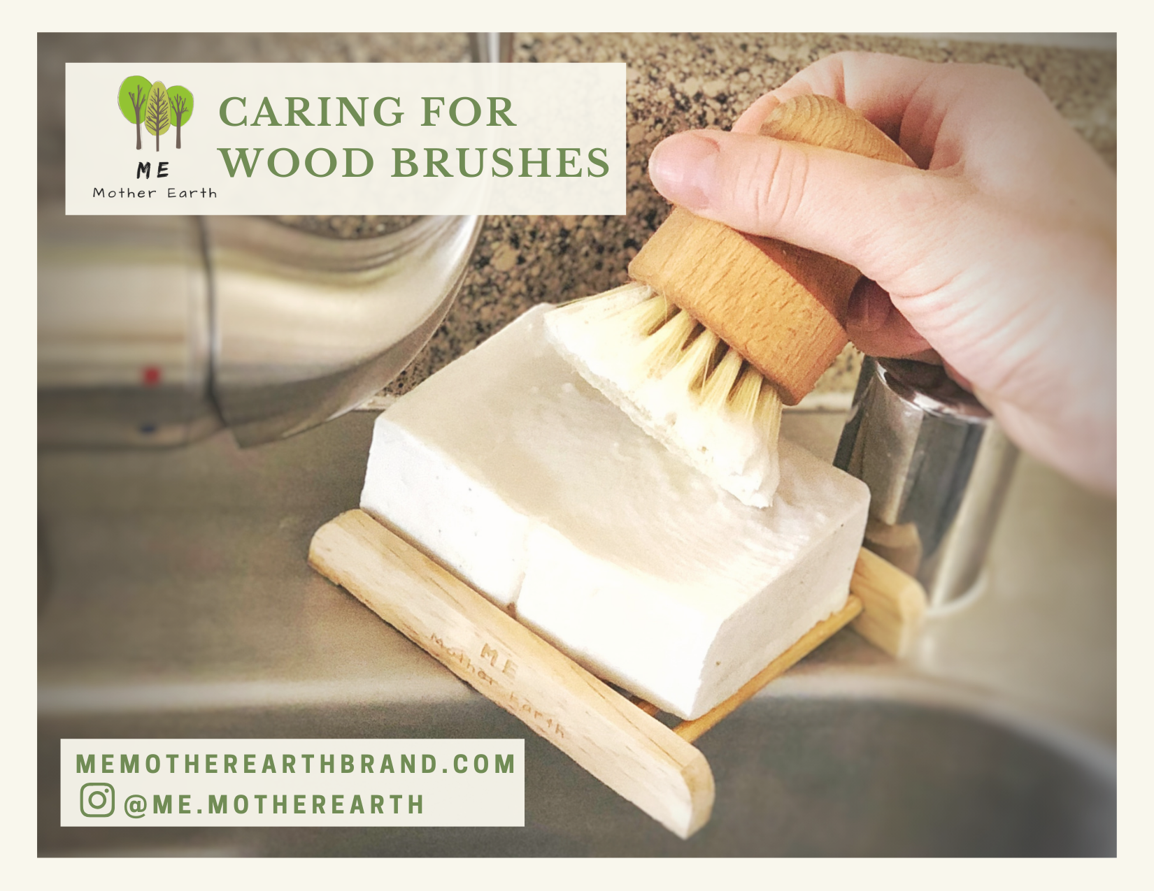 Caring for Wood Brushes