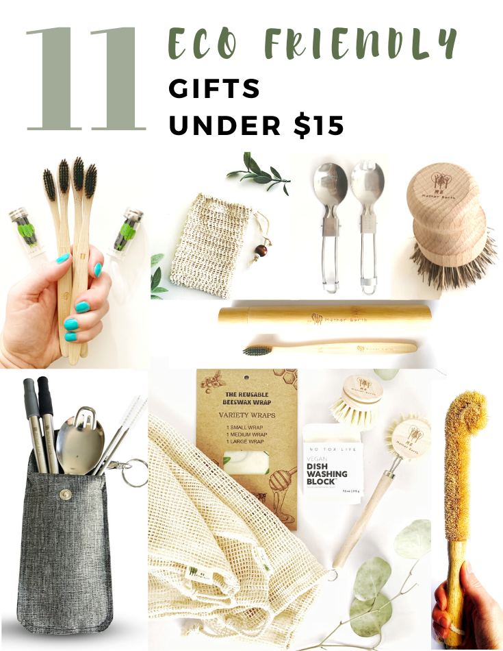 Eco Friendly Gifts Under $15