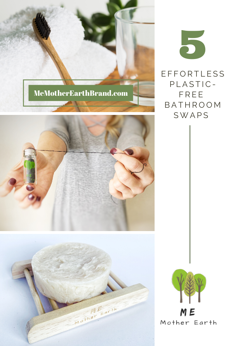 5 Effortless Plastic-Free Bathroom Swaps