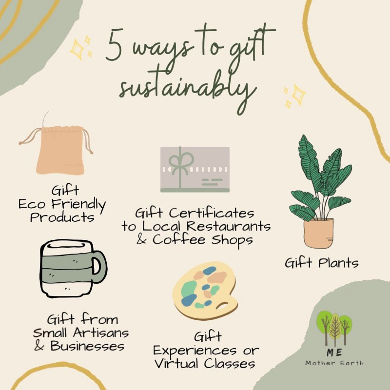 Five Ways to Gift Sustainably