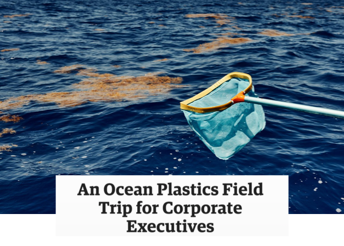 Corporate Execs go on a Field Trip to the Great Pacific Garbage Patch