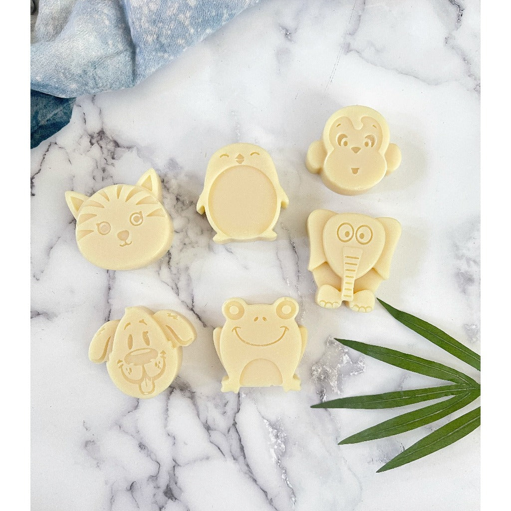 Animal Soaps for Kids- 3 Pack