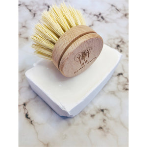 Sisal Kitchen Brush- Replacement Head ONLY