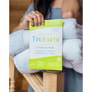 Laundry Detergent Eco-Strips: 32 Loads