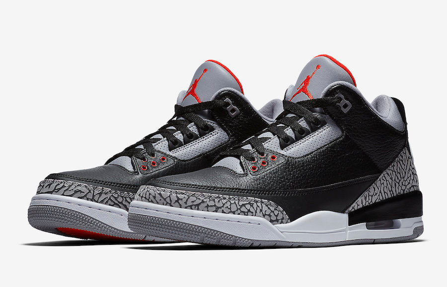 638536bfafe 2018 Air Jordan Cement 3 s Photos and Video Review – Exquisite Streetwear  Shop