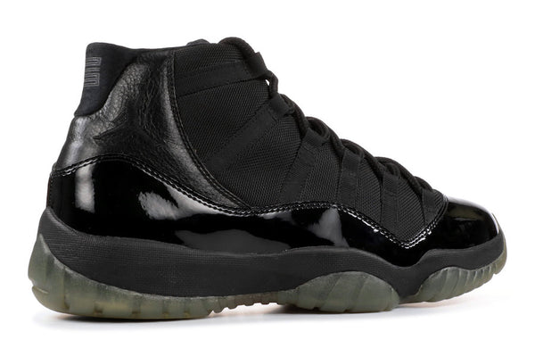 new styles 649da 9311a all black jordan 11 for woman