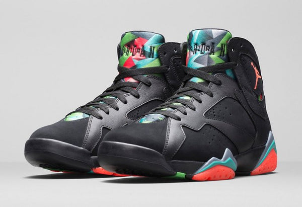 3136f17dff9427 Nicknamed Martian 7 s due to the sneakers colors looking very similar to  Marvin the Martian.