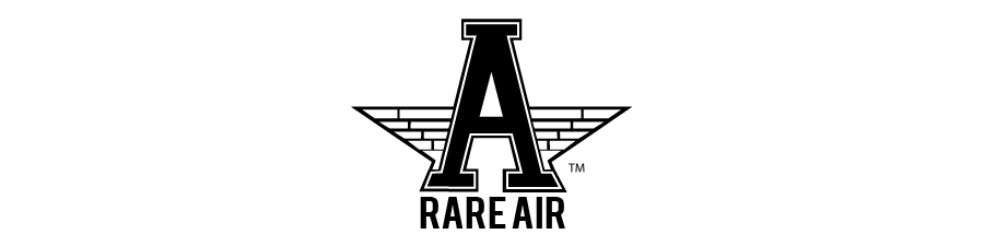 Rare air clothing logo header