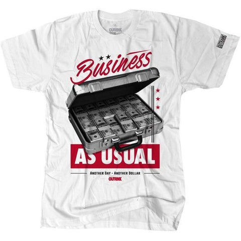 OutRank Apparel Business as Usual Chicago 13s Tee